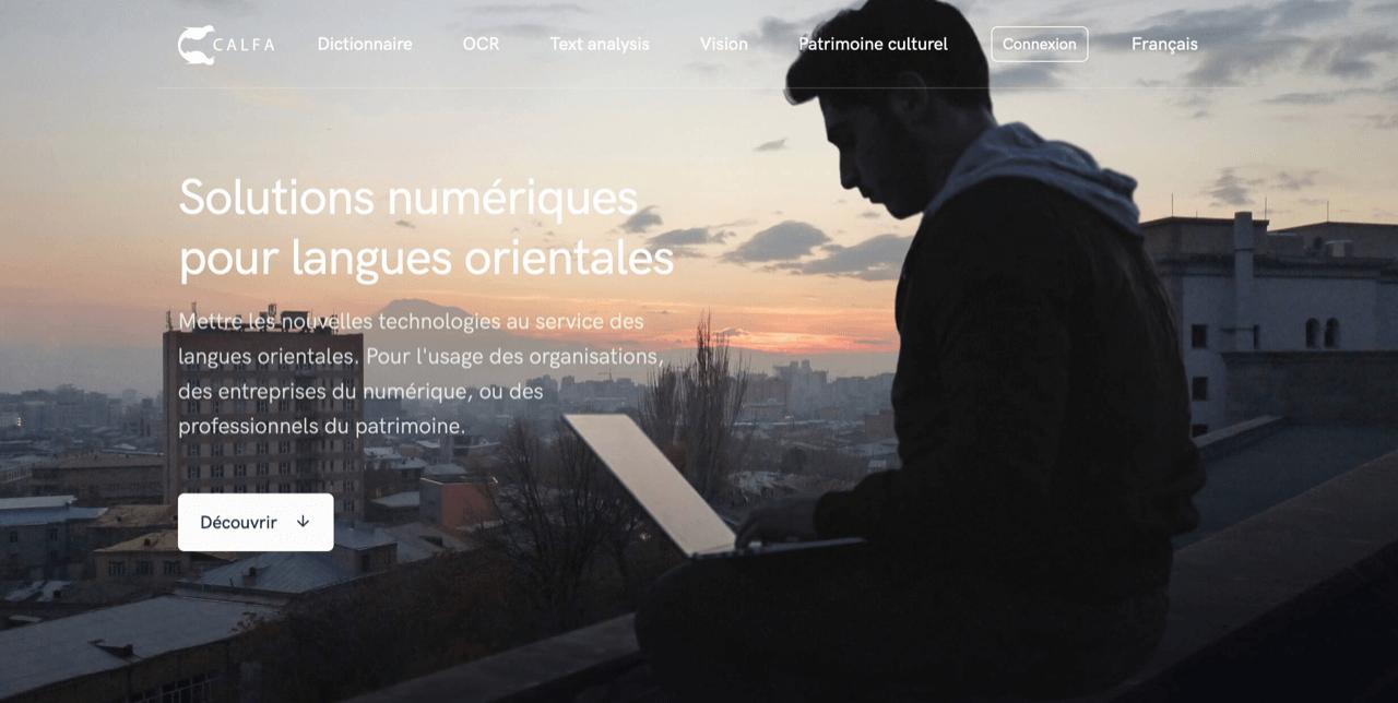 Calfa Homepage
